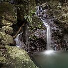 Just a little Waterfall by Clare Colins
