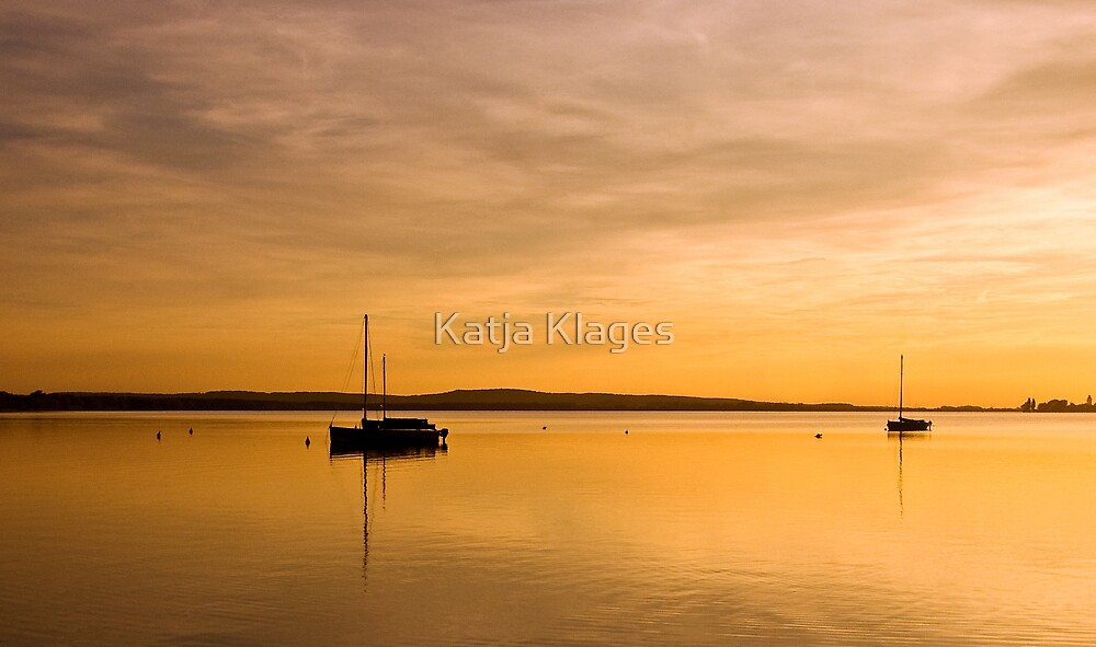 golden sunset by Katja Klages