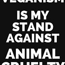 VEGANISM IS MY STAND AGAINST ANIMAL CRUELTY! by DontBreakVeg