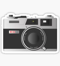 The Poor Man's Leica Sticker
