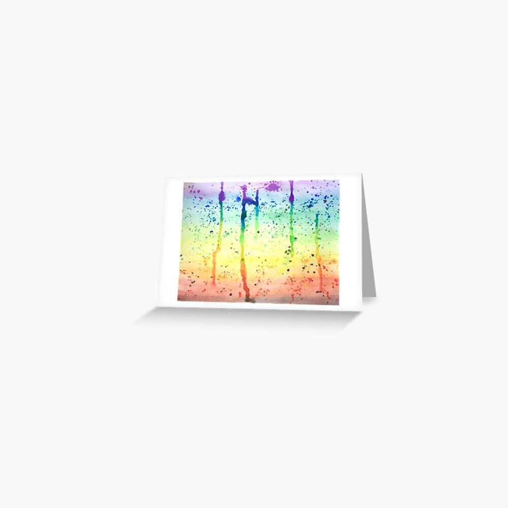 Pride Paint 2017 Greeting Card