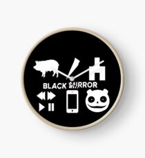 Black Mirror Clock