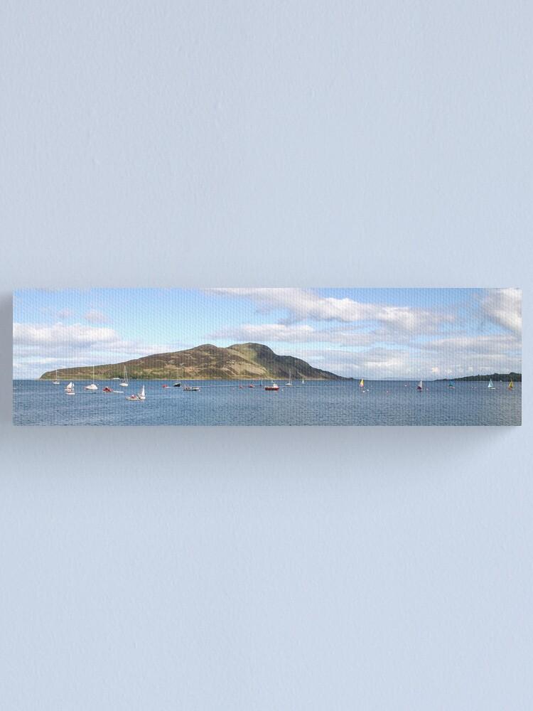Alternate view of Holy Isle panorama Canvas Print