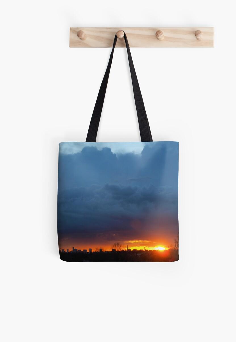 Sunset over Birmingham by Mark Durant