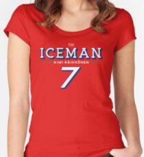 Kimi Raikkonen The Iceman Women's Fitted Scoop T-Shirt