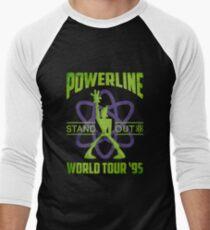 Powerline Stand Out World Tour 95' V2 Men's Baseball ¾ T-Shirt