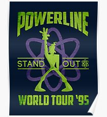 Powerline Stand Out World Tour 95' V2 Poster