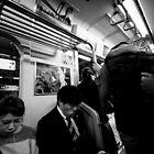 Someone is watching - Tokyo Japan by Norman Repacholi