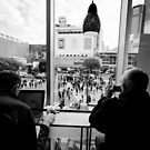 Shibuya from above - Tokyo Japan by Norman Repacholi