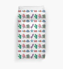 Coral Reef Icons 2 Duvet Cover