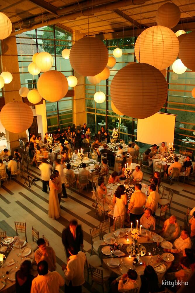 Orange Wedding Feast by kittybkho