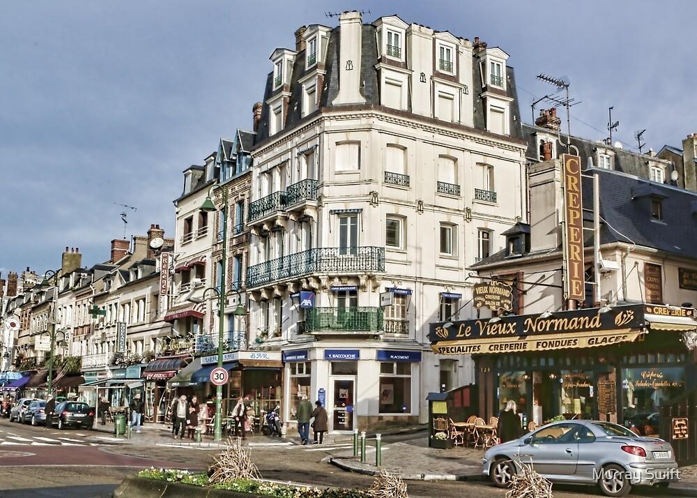 Trouville France II by Murray Swift