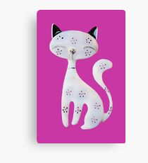 Pussycat Canvas Print
