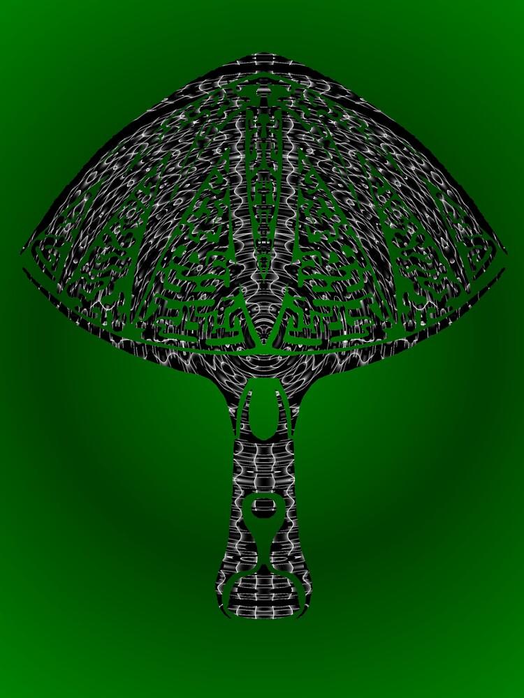 tribal mushroom by Dalton Sayre