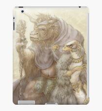 Falcon and Minotaur iPad Case/Skin