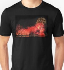 Where There's Smoke There's Fireworks Unisex T-Shirt