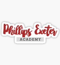 Phillips Exeter Academy Sticker