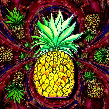 Pineapple by bitetheolivez