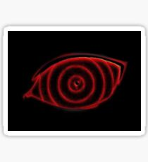 hypnotic rinnegan eye Sticker