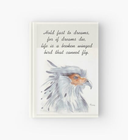 Secretary Bird Hardcover Journal