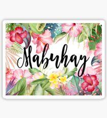 Mabuhay Sticker