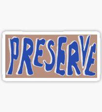 Preserve it Logo - Pocono Sticker