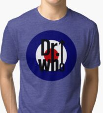 Doctor Who / The Who spoof Tri-blend T-Shirt