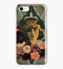 Vintage Gypsy Girl Art Boho iPhone Case/Skin