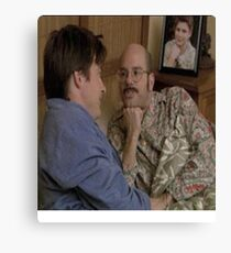 is that the singer songwriter george michael? Canvas Print