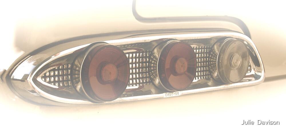 1959 Edsel taillights by Julie  Davison