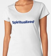 Spiritualized Logo (Ladies and Gentlemen We Are Floating in Space) Women's Premium T-Shirt