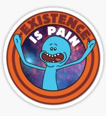 Existence is pain Sticker