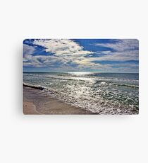 Sparkling Gulf Waters Canvas Print