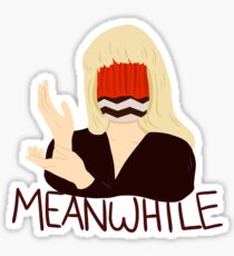 Meanwhile Sticker