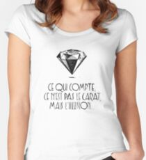 Carat Women's Fitted Scoop T-Shirt