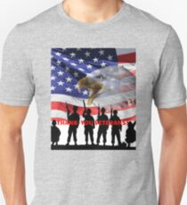 Thank-You Veterans For Your Service! Unisex T-Shirt