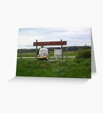 Nebraska Rest Area Greeting Card