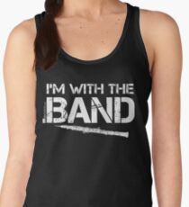 I'm With The Band - Oboe (White Lettering) Women's Tank Top
