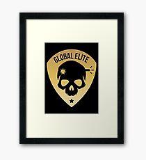 CSGO Global Elite Badge - Headshot Framed Print
