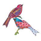 Birds of a Colour by elenakballam