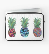 Patterned Pineapples Laptop Sleeve