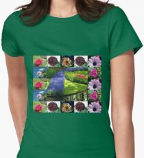 A Flowers and Gardens Collage T-Shirt