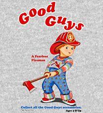 Good Guys - Fireman - Child's Play - Chucky Kids Pullover Hoodie