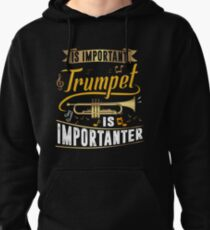Importanter Trumpet Pullover Hoodie