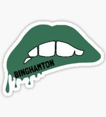 Binghamton Lips Sticker