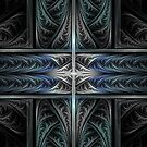 Blue Fractal by NOverlord