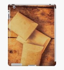 Rustic country soap bars iPad Case/Skin