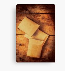 Rustic country soap bars Canvas Print