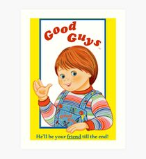 Child's Play - Good Guys - Chucky Art Print