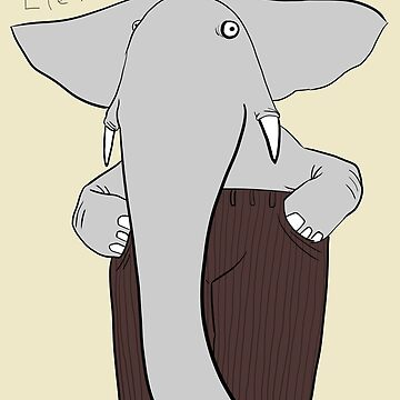 elephants wear corduroy by pauk